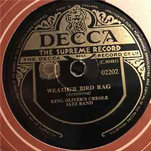 King Oliver's Creole Jazz Band - Weather Bird Rag / Just Gone flac