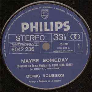Demis Roussos - Maybe Someday / I'm Gonna Fall In Love flac