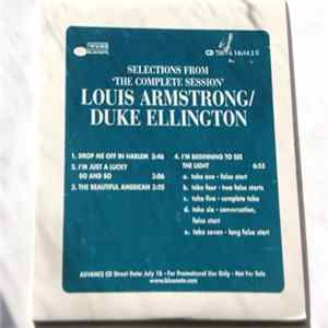 Louis Armstrong / Duke Ellington - Selections From 'The Complete Sessions' flac